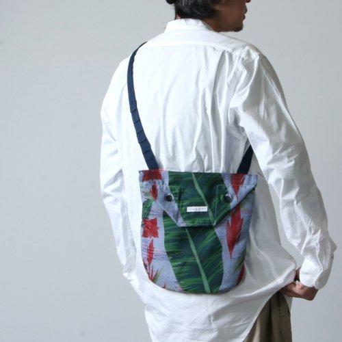 ENGINEERED GARMENTS (エンジニアードガーメンツ) Shoulder Pouch -Polyester Big Floral Print / ショルダーポーチ フローラルプリント