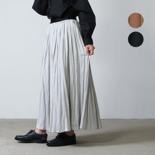 ina (イナ) ナイルサテンギャザースカート