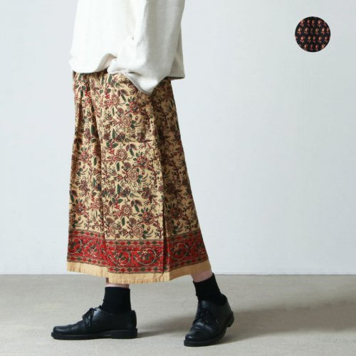 South2 West8 (サウスツーウエストエイト) String Skirt - Ikat Wave / ストリングスカート