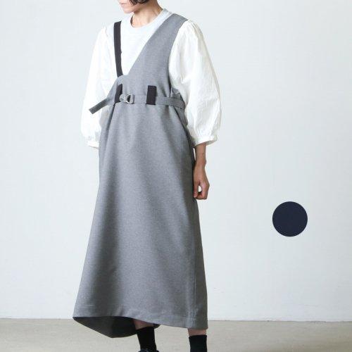 sneeuw (スニュウ) チューブジャンパースカート