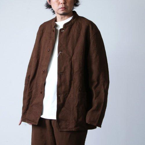 COMOLI (コモリ) ヘンプダック スタンドカラージャケット