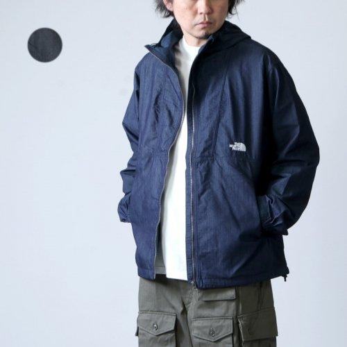 THE NORTH FACE (ザノースフェイス) Nylon Denim Compact Jacket / ナイロンデニムコンパクトジャケット