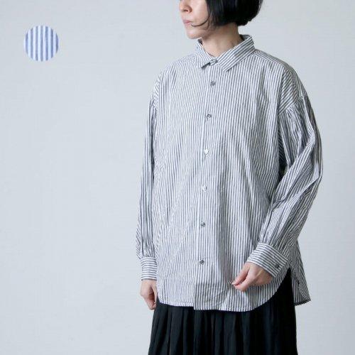 ICHI Antiquites (イチアンティークス) タイプライターストライプシャツ