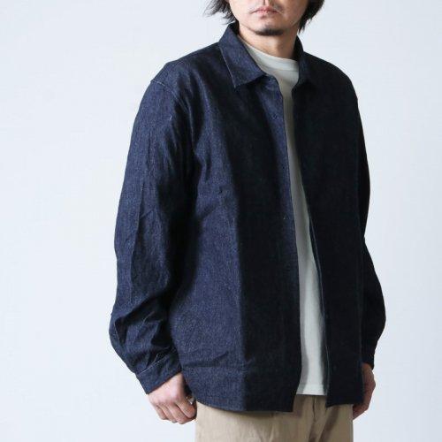 YAECA (ヤエカ) COMFORT SHIRT RELAX SQUARE / コンフォートシャツ リラックス スクエア