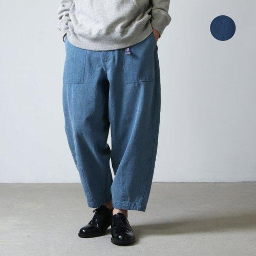 THE NORTH FACE PURPLE LABEL (ザ ノースフェイス パープルレーベル) Denim Field Wide Cropped Pants / デニムフィールドクロップドパンツ