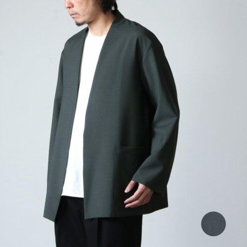 marka (マーカ) LAPELLESS SHIRT JACKET / ラペルレスシャツジャケット
