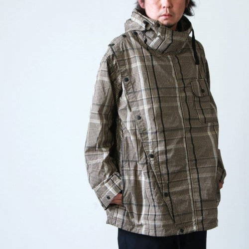 ENGINEERED GARMENTS (エンジニアードガーメンツ) Sonor Shirt Jacket -Nyco Plaid / ソナーシャツジャケット