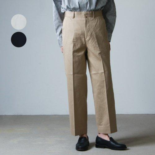 YAECA (ヤエカ) CHINO CLOTH PANTS CREASED / チノクロスパンツクリース