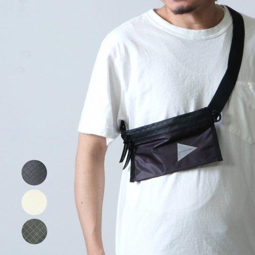 and wander (アンドワンダー) sil secret bag / シルシークレットバッグ
