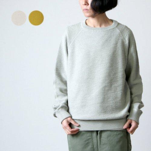 crepuscule (クレプスキュール) Garment Dye L/S for woman / ガーメントダイロングスリーブ レディースサイズ