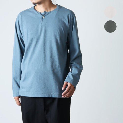 Jackman (ジャックマン) Henleyneck LS T-Shirt / ヘンリーネックロングスリーブTシャツ