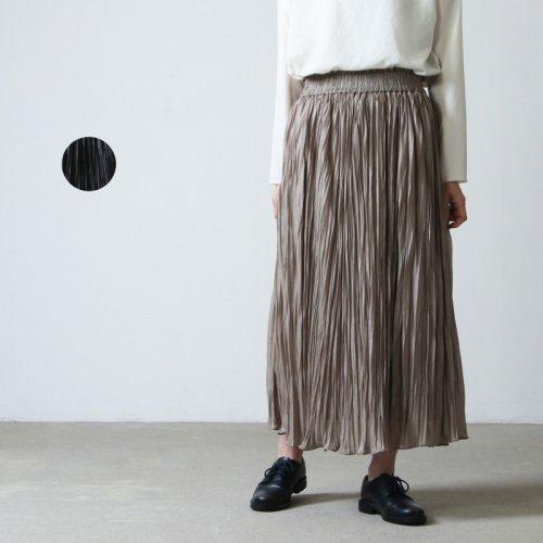 dolly-sean (ドリーシーン) シャイニープリーツロングスカート
