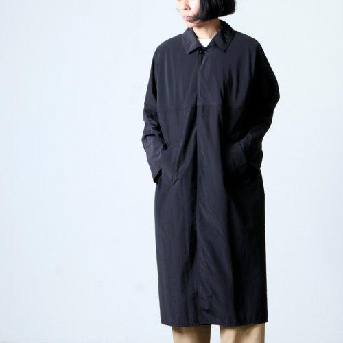 YAECA (ヤエカ) CONTEMPO RAIN COAT black / コンテンポレインコートブラック