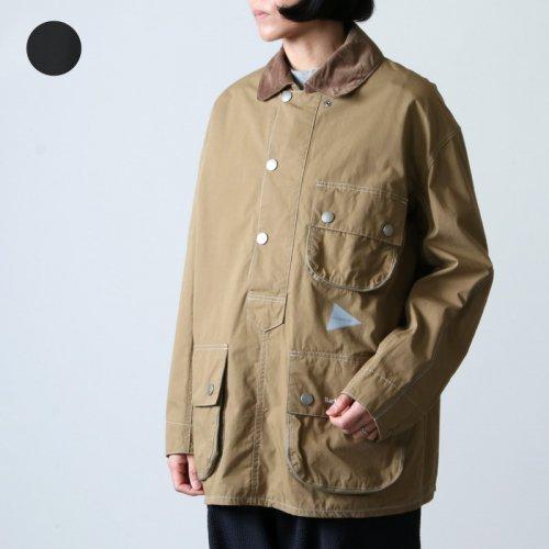 and wander (アンドワンダー) Barbour CORDURA solway shirt for woman / バブアー コーデュラソロウェイシャツ レディース