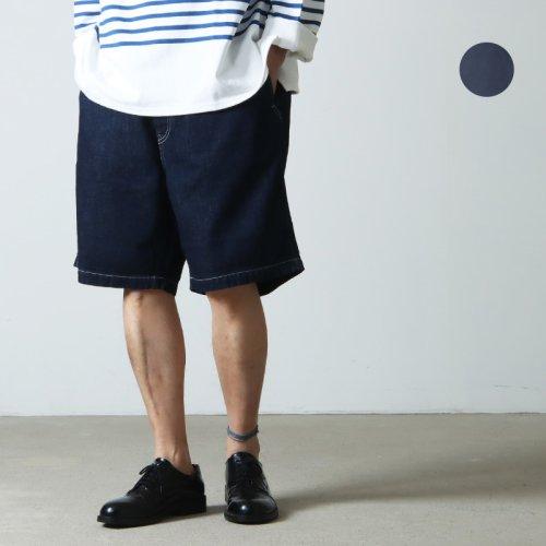 Graphpaper (グラフペーパー) Denim Baggy Shorts / デニムバギーショーツ