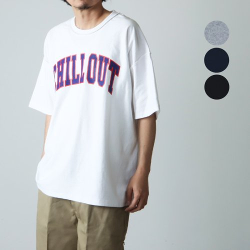 is-ness (イズネス) ISNESS MUSIC CHILL OUT T-SHIRT / チルアウトTシャツ