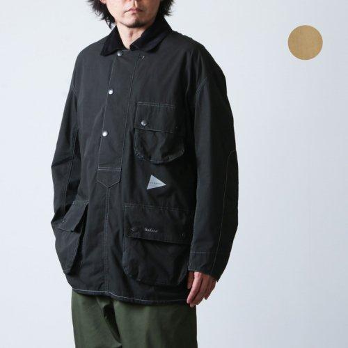 and wander (アンドワンダー) Barbour CORDURA solway shirt for man / バブアー コーデュラソロウェイシャツ メンズ