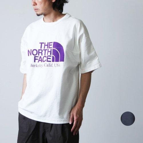 THE NORTH FACE PURPLE LABEL (ザ ノースフェイス パープルレーベル) Combination H/S Logo Tee / コンビネーションハーフスリーブロゴT