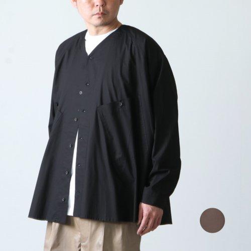 O Project (オープロジェクト) V NECK OVER SHIRTS / Vネックオーバーシャツ