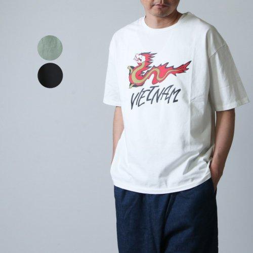 CAL O LINE (キャルオーライン) HO CHI MINH CITY T-SHIRT COMFORT FIT / ホーチミンシティTシャツ