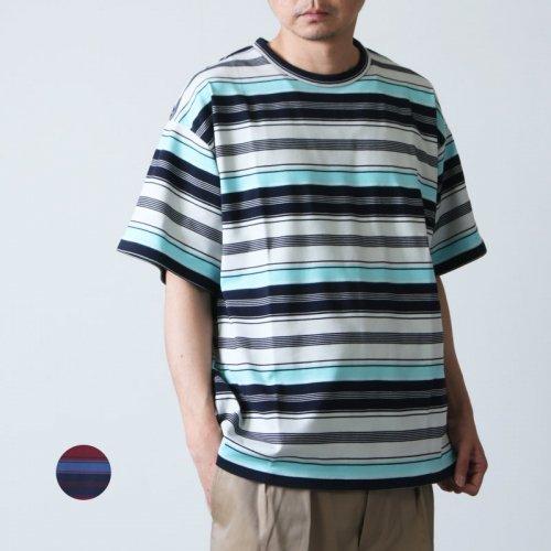 WELLDER (ウェルダー) Crew Neck T-Shirt / クルーネックTシャツ