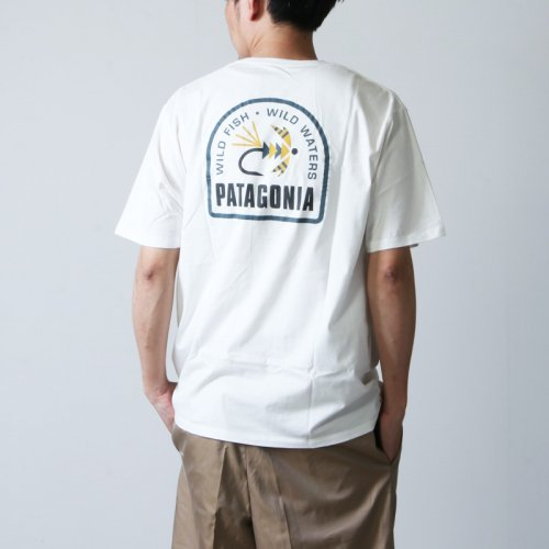 PATAGONIA (パタゴニア) M's Soft Hackle Organic T-Shirt / メンズ・ソフト・ハックル・オーガニック・Tシャツ