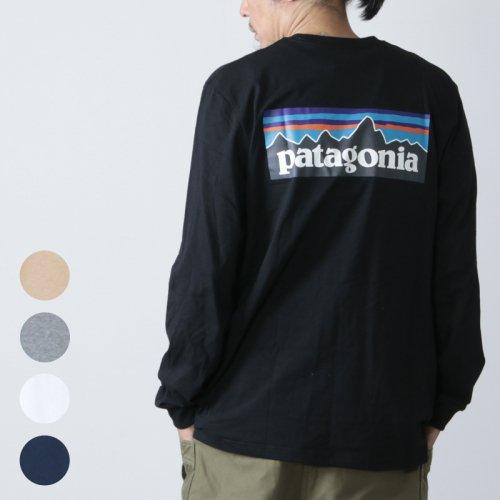 PATAGONIA (パタゴニア) M's L/S P-6 Logo Responsibili-Tee / メンズ ロングスリーブ P-6ロゴ レスポンシビリティー