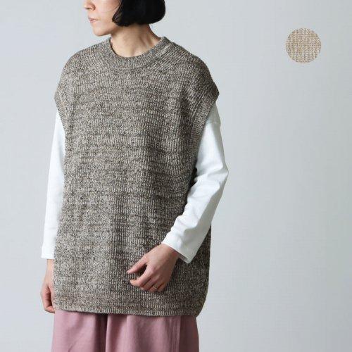 unfil (アンフィル) japanese paper jersey sleeveless Tee / ジャパニーズペーパージャージスリーブレスT