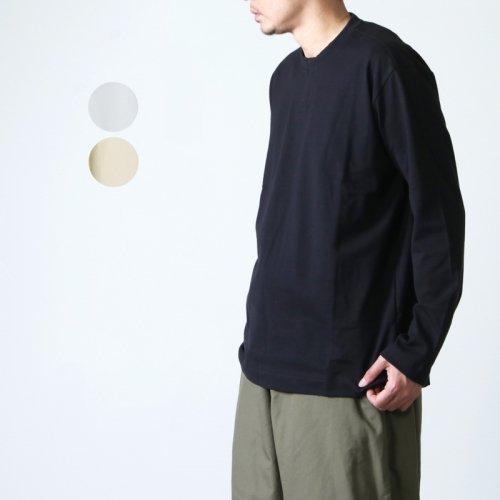 THE HINOKI (ザ ヒノキ) オーガニックコットン クルーネック長袖Tシャツ
