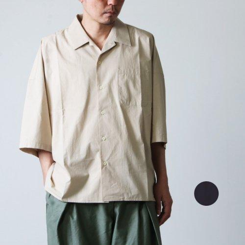 roundabout (ラウンダバウト) S/S Big Shirt / ショートスリーブビッグシャツ