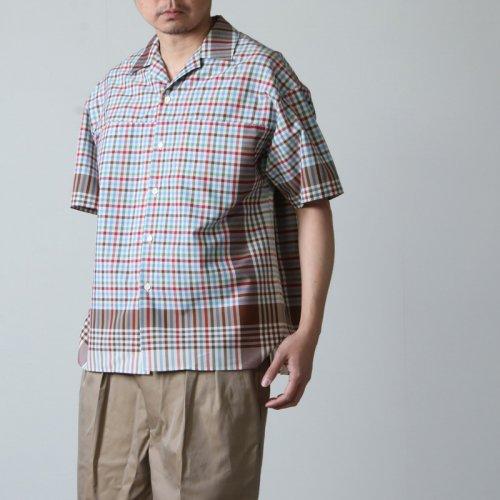 beautiful people (ビューティフルピープル) kitchen cloth poplin open-necked shirt