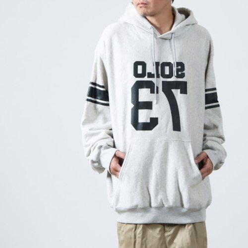 TAKAHIROMIYASHITATheSoloist. (タカヒロミヤシタザソロイスト) I LOVE NY oversized hoodie / オーバーサイズスウェットパーカー