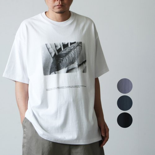 Graphpaper (グラフペーパー) POET MEETS DUBWISE for GP Oversized Tee W&S