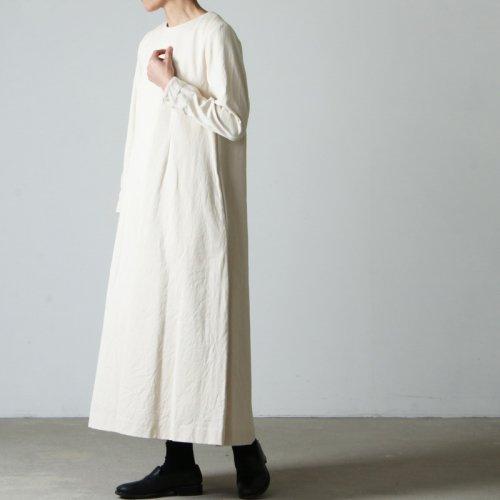 YAECA (ヤエカ) WRITE DRESS / ライトドレス