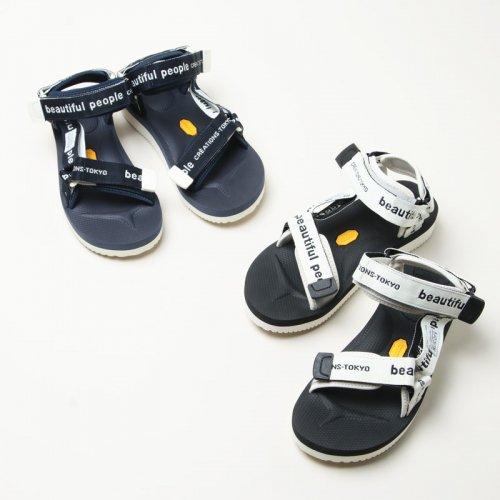 beautiful people (ビューティフルピープル) bp×Suicoke logo belt sandals