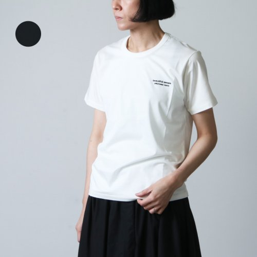 beautiful people (ビューティフルピープル) high gauge suvinpima logo kids T-shirt