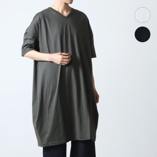 Commencement (コメンスメント) V-neck onepiece / Vネックワンピース