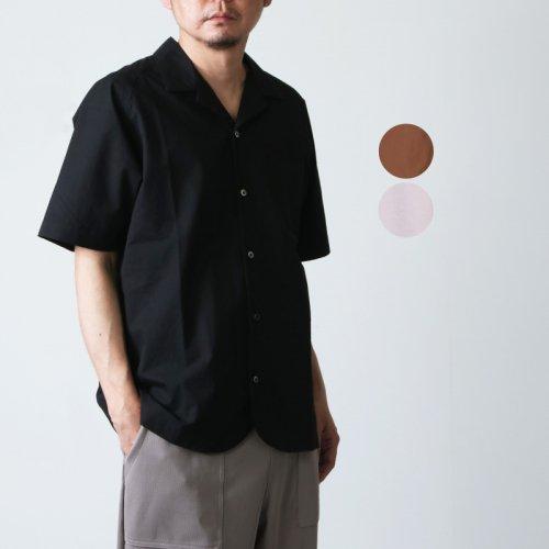 nisica (ニシカ) 半袖オープンカラーシャツ