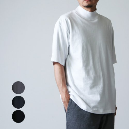 Graphpaper (グラフペーパー) S/S Mock Neck Tee / ショートスリーブモックネックT