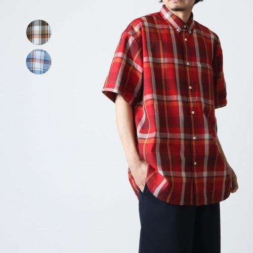 DAIWA PIER39 (ダイワピア39) Tech French Mil Field Shirts S/S / フレンチミルフィールドシャツショートスリーブ