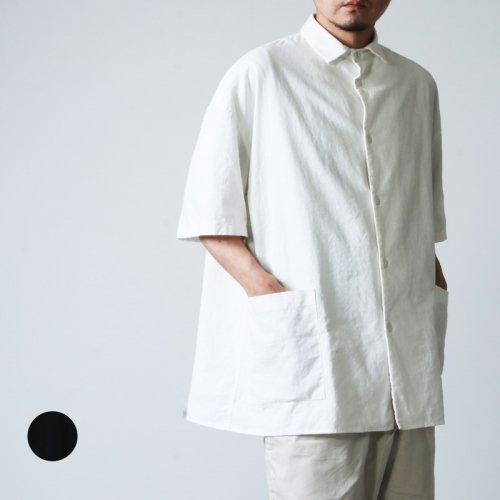 LOLO (ロロ) ビッグサイズ半袖 綿麻シャツ
