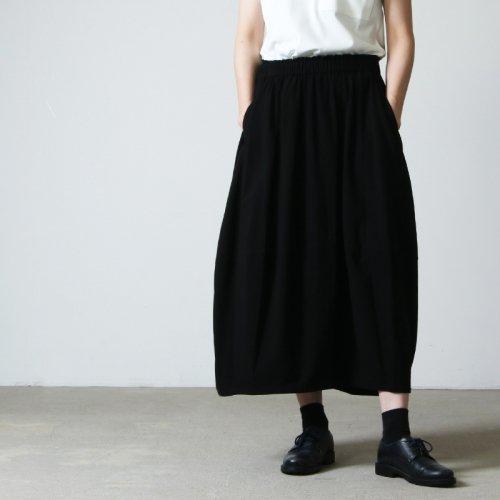 FACTORY (ファクトリー) バンブーコットンバルーンスカートSOLID