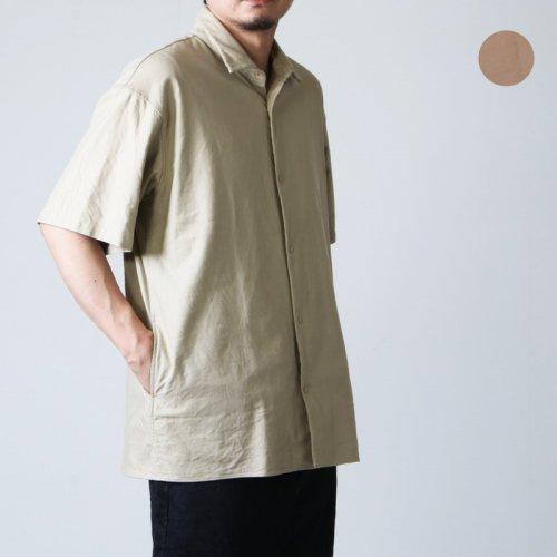 YAECA (ヤエカ) COMFORT SHIRT WIDE SQUARE SS / コンフォートシャツ ワイド スクエア ショートスリーブ