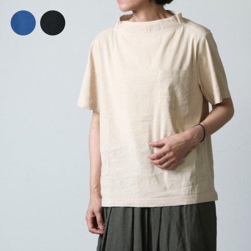nisica (ニシカ) 半袖ガンジープルオーバーシャツ