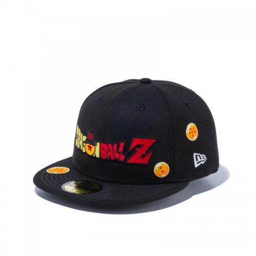 NEW ERA (ニューエラ) 59FIFTY DRAGON BALL Z / ドラゴンボール タイトルロゴ ブラック