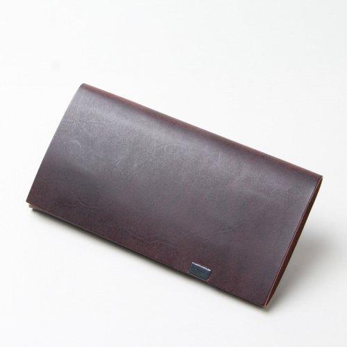 所作 (ショサ) Long Wallet #Bridle leather Black / ブライドルレザー ロングウォレット バーガンディー