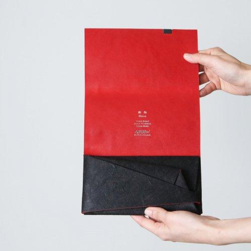 所作 (ショサ) Long Wallet #黒和紙 / ロングウォレット リミテッドカラー 黒和紙