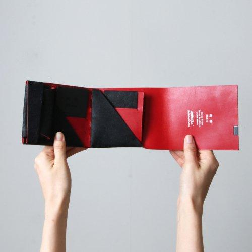 所作 (ショサ) Short Wallet #黒和紙 / ショートウォレット リミテッドカラー 黒和紙