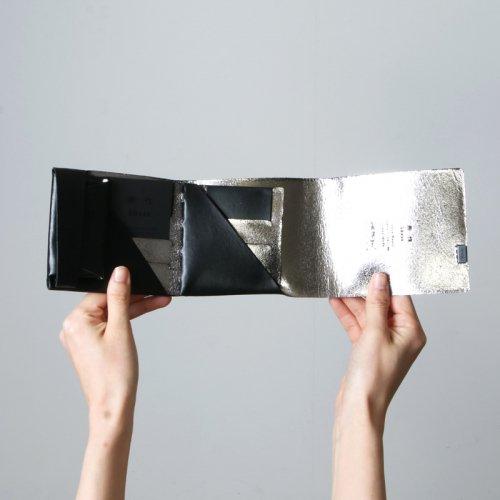 所作 (ショサ) Short Wallet #Black×Silver / ブラックシルバー ショートウォレット2.0