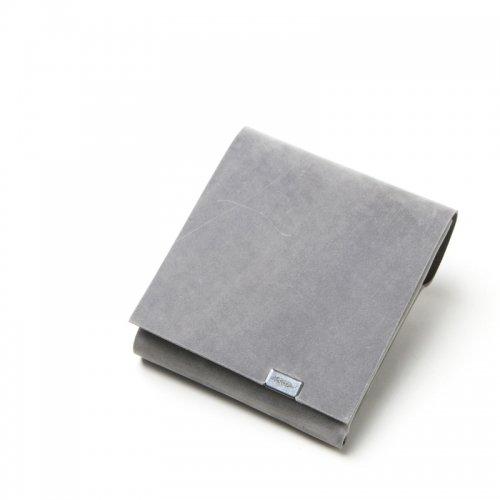 所作 (ショサ) Short Wallet #Oil Nubuck Gray / オイルヌバック ショートウォレット2.0 グレイ